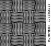 zigzag seamless pattern. black... | Shutterstock .eps vector #1793566198