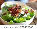 Salad With Bacon  Cesar Salad...