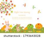 A Postcard Of A Rabbit  A...