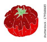 cartoon tomato   Shutterstock . vector #179368685