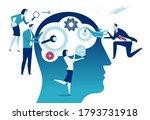 smart solution. improving... | Shutterstock .eps vector #1793731918