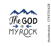Hand Lettering With Bible Verse ...