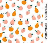 bright seamless pattern with... | Shutterstock .eps vector #1793801362