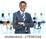 handsome young african american ... | Shutterstock . vector #179382266