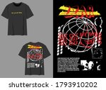industrial streetwear graphic... | Shutterstock .eps vector #1793910202