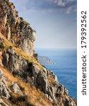 coastline in greece   Shutterstock . vector #179392562