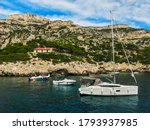 Aerial View On Cassis And...