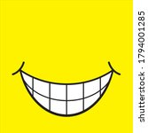 world smile day by happy ... | Shutterstock .eps vector #1794001285