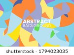 abstract flat colorful creative ...   Shutterstock .eps vector #1794023035