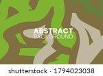 abstract flat fluid creative...   Shutterstock .eps vector #1794023038