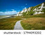 Scenic View Of Samphire Hoe...