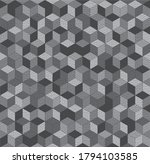 abstract seamless cubes grunge...