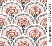 seamless wavy pattern. seigaiha ... | Shutterstock .eps vector #1794114085