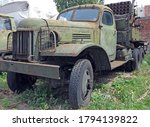 Old Military Truck Zis   Rusty