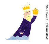 one of the three wise men | Shutterstock . vector #179414702
