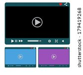 flat video player for  mobile...