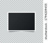 retro realistic photo frame... | Shutterstock .eps vector #1794209455