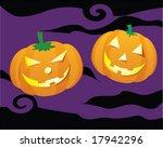 halloween pumpkin | Shutterstock .eps vector #17942296