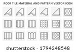 roof tile vector icon. consist... | Shutterstock .eps vector #1794248548