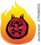 Red Devil Illustration  E Spor...