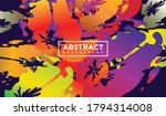 abstract background. dynamic... | Shutterstock .eps vector #1794314008