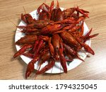 Chinese Lobster Food. The Spic...