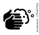 wash your hands vector icon... | Shutterstock .eps vector #1794357562