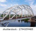 Span Of The Railroad Bridge...