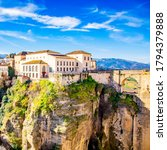 ronda city in andalusia  spain | Shutterstock . vector #1794379888