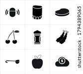 Illustration Set Of Mixed Icons ...