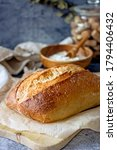 Loaf Of Sourdough Craft Bread...