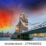 Night Lights Of Tower Bridge...