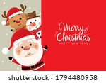 merry christmas and happy new... | Shutterstock .eps vector #1794480958