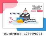 landing page video editing....