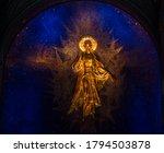 Golden Color Jesus Ascends To...