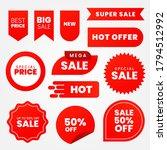 sale   creative banner set... | Shutterstock .eps vector #1794512992