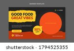 Good Food Great Vibes Banner...