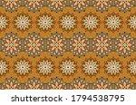 seamless floral pattern.... | Shutterstock .eps vector #1794538795