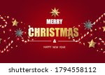 merry christmas and happy new... | Shutterstock .eps vector #1794558112