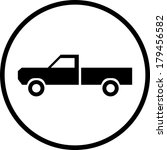 pickup truck vector icon | Shutterstock .eps vector #179456582