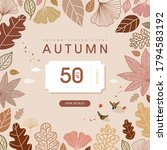 autumn shopping event... | Shutterstock .eps vector #1794583192