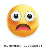high quality emoticon isolated... | Shutterstock .eps vector #1794600535