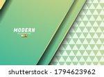 modern geometric abstract shape ... | Shutterstock .eps vector #1794623962
