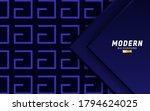 luxury premium blue vector... | Shutterstock .eps vector #1794624025