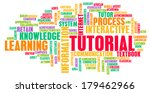 tutorial concept as a method of ... | Shutterstock . vector #179462966