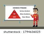 safety manager on presentation... | Shutterstock .eps vector #1794636025