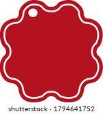 simple vector design of a... | Shutterstock .eps vector #1794641752