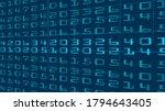 digital code algorithm stream... | Shutterstock .eps vector #1794643405