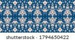 ikat geometric folklore... | Shutterstock .eps vector #1794650422
