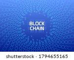 blockchain abstract conceptual...   Shutterstock .eps vector #1794655165
